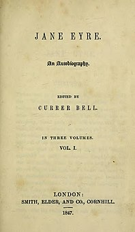 <i>Jane Eyre</i> 1847 novel by Charlotte Brontë