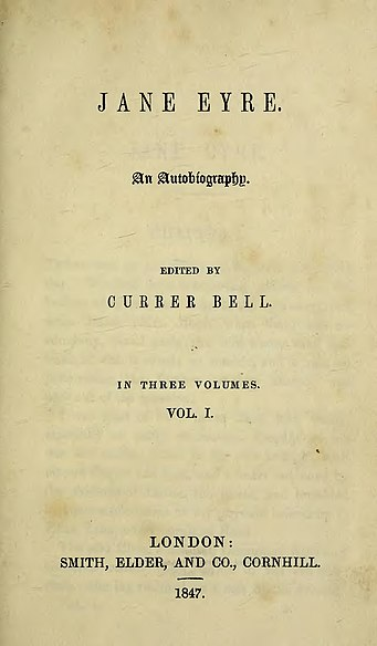 Jane Eyre title page