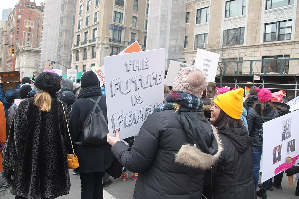 January 2019 Women's Alliance march in NYC (32930379778).jpg