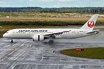 Japan Airlines, JA838J, Boeing 787-8 Dreamliner (28955820196).jpg