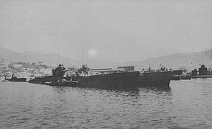 Type C submarine - I-53 in 1945
