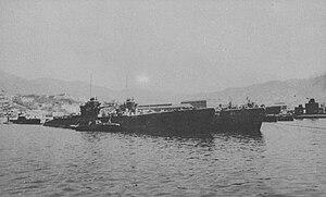 Type C submarine - I-53 in 1945
