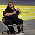 """Jaron Lanier at Bloomberg's Techonomy14 on """"Who Owns the Future?"""".jpg"""