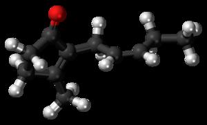 Jasmone - Image: Jasmone molecule ball