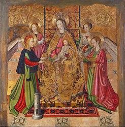 Jaume Huguet: Virgin and Saints