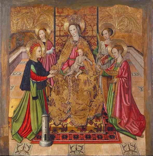 File:Jaume Huguet - Virgin and Saints - Google Art Project.jpg