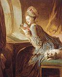 Jean-Honoré Fragonard - La lettre d'amour