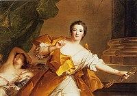 Jean-marc-nattier-portrait-of-the-marquise-de-flavacourt-as-venus,-with-cupid-sleeping-beside-her.jpg