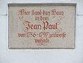JeanPaul Gedenktafel Hofg.jpg