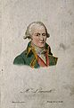 Jean Baptiste Pierre Antoine de Monet Lamarck. Coloured etch Wellcome V0003325.jpg
