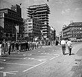 Jellasics bán tér (Trg bana Josipa Jelačića), a II. World Gymnaestrada megnyitója 1957. július 10-én. Fortepan 74961.jpg