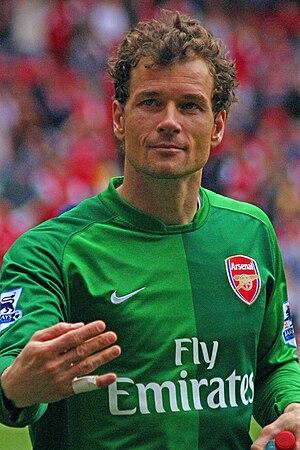 Jens Lehmann - Lehmann playing for Arsenal in 2007.