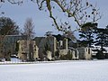 Jervaulx Abbey in the snow - geograph.org.uk - 1422752.jpg