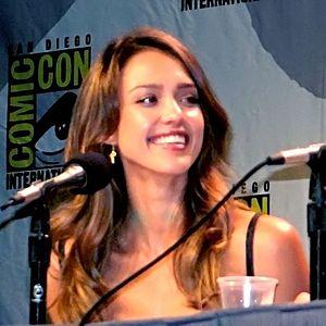 Jessica Alba attending Comic Con 2007 to promo...