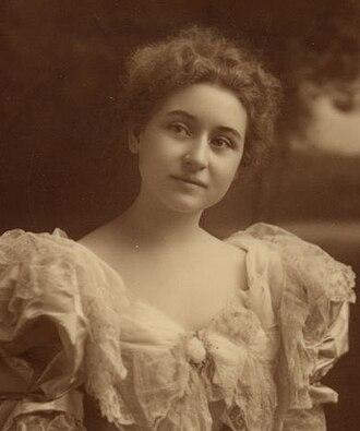 Jessie Harlan Lincoln - Image: Jessie Harlan Lincoln (portrait)