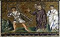 Jesus healing a paralytic in Bethesda - Sant'Apollinare Nuovo - Ravenna 2016.jpg