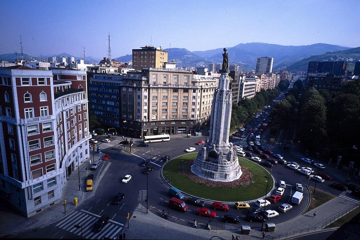 Plaza del sagrado coraz n de jes s wikipedia la for Imq oficinas centrales bilbao bilbao