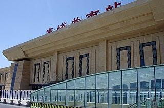 Jiayuguan South railway station