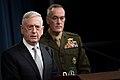 Jim Mattis briefing 2018 Syria attack.jpg