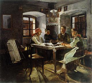Jožef Petkovšek Slovene painter