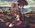 Joachim Patinir, The Rest on The Flight into Egypt, 62 x 78 cm, Gemäldegalerie, Berlin.jpg