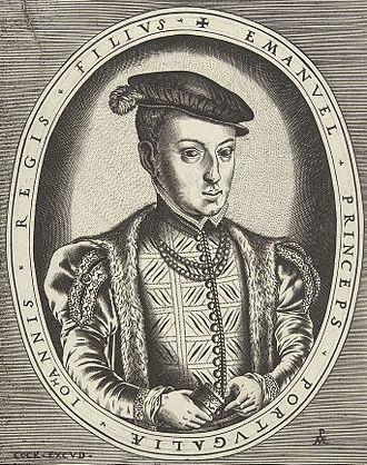 João Manuel, Prince of Portugal - Portrait of Prince João Manuel; Hieronymus Cock, c. 1550-1554.