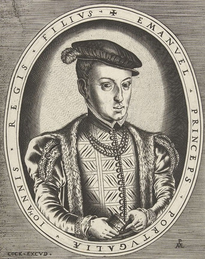 Joao Manuel, Prince of Portugal by Hieronymus Cock