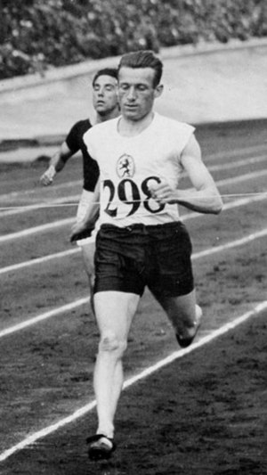 Harry Broos - Broos at the 1928 Olympics
