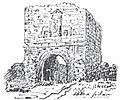 Johannisborgs slottsruin, södra sidan, 1858.jpg