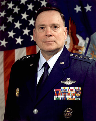 United States Air Force officer rank insignia - General John P. Jumper in the modern Air Force service dress