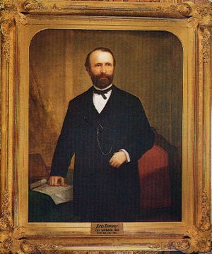 John G. Downey - Governor Downey by William F. Cogswell
