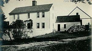 Lt. Col. John Robinson - Robinson's house in Westford, Massachusetts, c. 1902