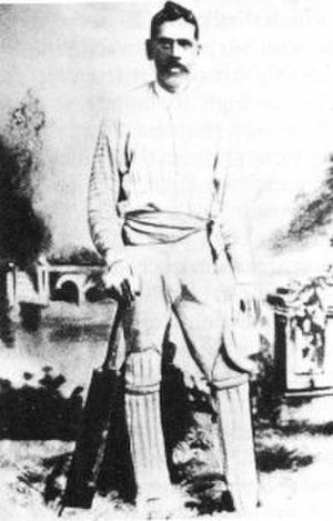 Australian Aboriginal cricket team in England in 1868 - Johnny Mullagh, the team's star all-rounder