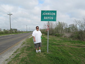 Johnson Bayou, Louisiana - A tourist in Johnson Bayou – March, 2011