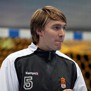 Swedish handball player