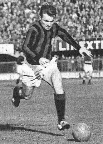 José Altafini - Altafini in action with Milan