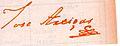 José Gervasio Artigas 1813 signature.jpg