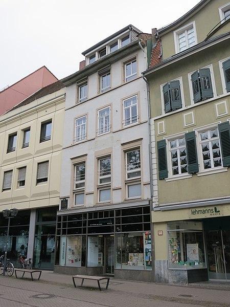 File:José Rizal historical site at Ludwigsplatz 12, Heidelberg, Germany.jpg