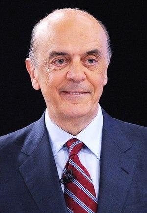 Brazilian presidential election, 2010 - Image: José Serra no Rio