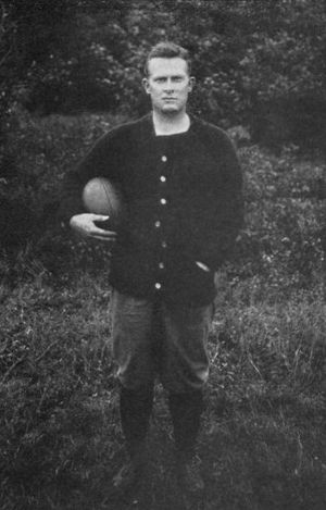 1911 College Football All-America Team - Joseph Duff of Princeton.