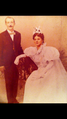 Joseph Germaine LeBlanc and his Bride Ninette Gauthier.png