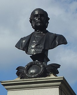 Joseph Lister statue, Kensington Gardens, London, England-15March2007