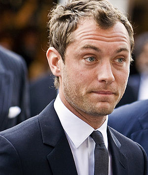 Sherlock Holmes (2009 film) - Actor Jude Law at the 2007 Toronto International Film Festival.