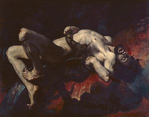 Ixion - Ixion by Jules-Elie Delaunay