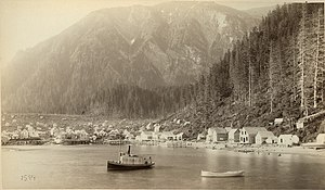 Juneau, Alaska - Juneau City in 1887