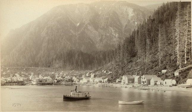 Juneau City, 1887