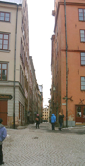 Köpmangatan - Köpmangatan in February 2007