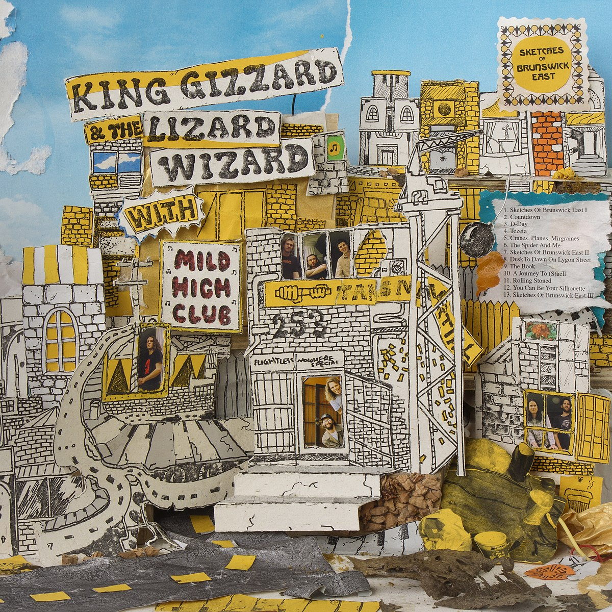 Cover KING GIZZARD & THE LIZARD WIZARD & MILD HIGH CLUB - Cranes, Planes, Migraines