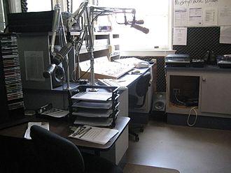 KTXT-FM - KTXT studio