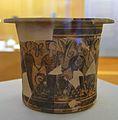 Kalathos de la dansa, Tossal de sant Miquel (Llíria), Museu de Prehistòria de València.JPG